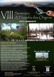 """VIII Seminário """"A Filosofia das Origens"""""""