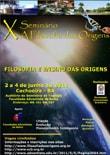 """X Seminário """"A Filosofia das Origens"""""""