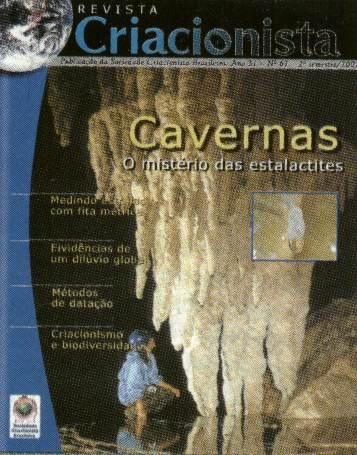 Folha Criacionista Nº. 67 – 2º Semestre de 2002 – Ano 31