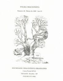 Folha Criacionista Nº. 46 – 1º Semestre de 1992 – Ano 21