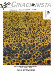 Folha Criacionista Nº. 56 – 1997 – Ano 27