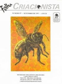 Folha Criacionista Nº. 57 – Setembro de 1997 – Ano 26