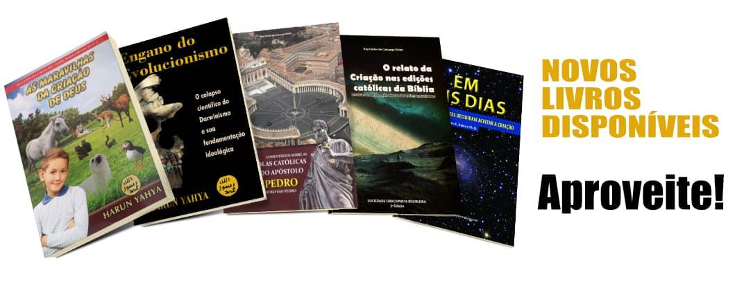 Novos livros disponíveis